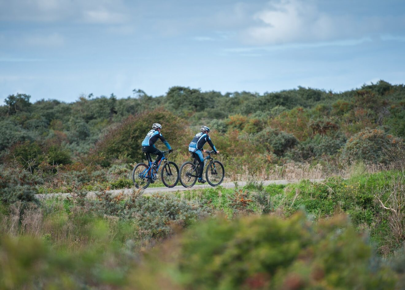 Cadzand mountainbikers