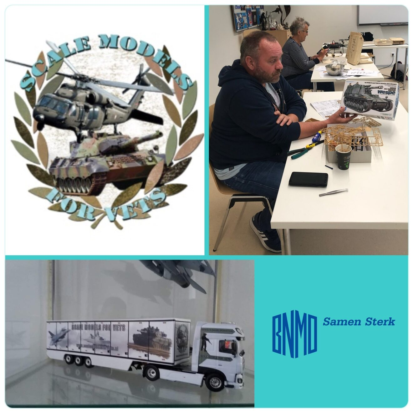 Scale models for vets