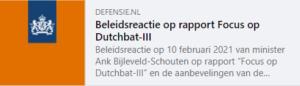 Rapport Borstlap Dutchbat III